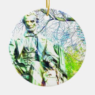 Lincoln Christmas Tree Ornament