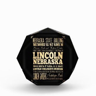 Lincoln City of Nebraska Typography Art Award