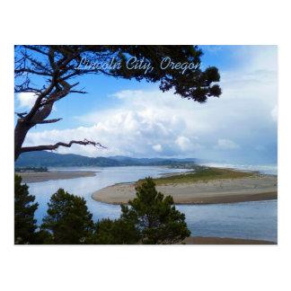 Lincoln City, Oregon Postcard