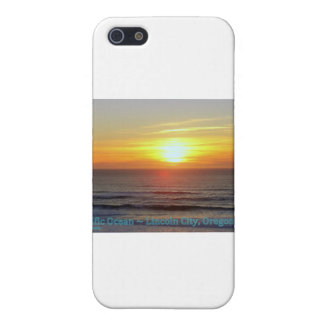 Lincoln City, Oregon - Sunset iPhone 5 Cases