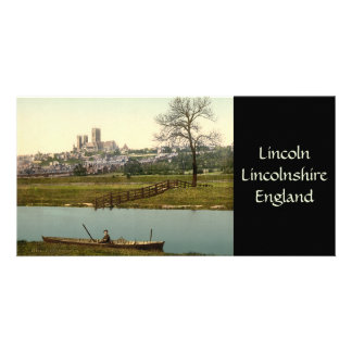 Lincoln City View, Lincolnshire, England Card