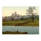 Lincoln City View, Lincolnshire, England Postcard