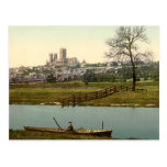 Lincoln City View, Lincolnshire, England Post Cards