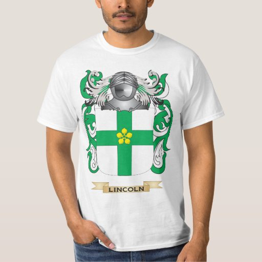 Lincoln Coat of Arms (Family Crest) Shirt