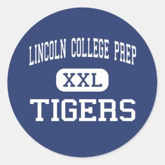 Lincoln College Prep Tigers Kansas City Stickers