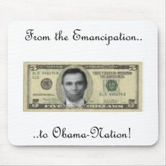 Lincoln/conexión de Obama Alfombrilla De Raton