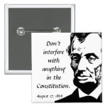 Lincoln Constitutional Interference Pin