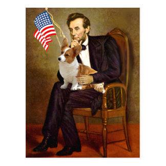 Lincoln - Corgi 8 Galés del Pembroke Tarjeta Postal