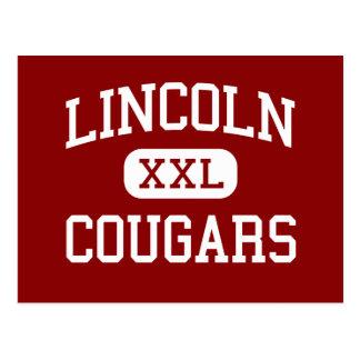 Lincoln - Cougars - Junior - Van Wert Ohio Postcard