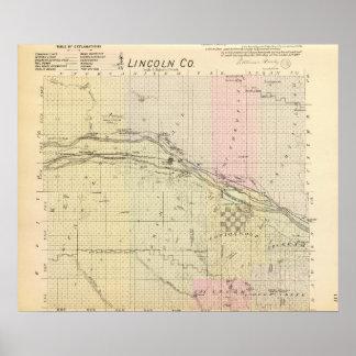 Lincoln County, Nebraska Poster