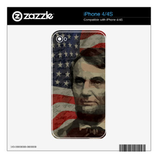 Lincoln day decals for iPhone 4S