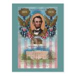 Lincoln, de la cabaña de madera a la Casa Blanca Tarjetas Postales