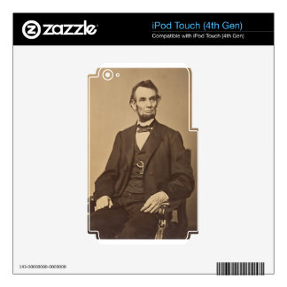 Lincoln Decal For iPod Touch 4G