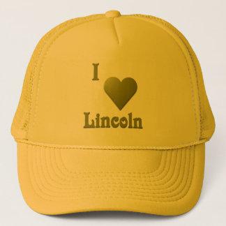 Lincoln -- Deep Green Trucker Hat