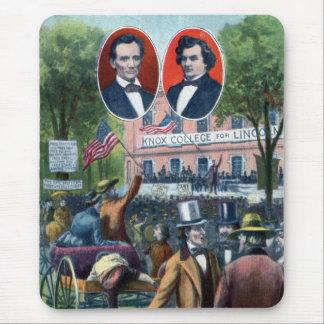 Lincoln-Douglas Debate of 1858 Mouse Pad