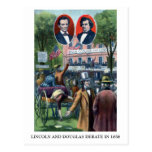 Lincoln-Douglas Debate of 1858 Post Cards