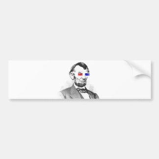 ¡Lincoln en 3D! Pegatina Para Auto