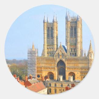 Lincoln, England Classic Round Sticker