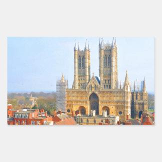 Lincoln, England Rectangular Sticker