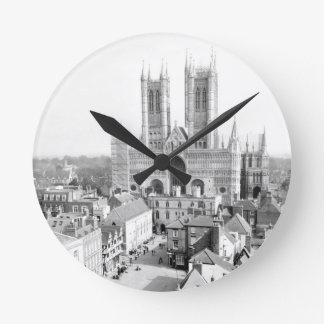 Lincoln, England Round Clock