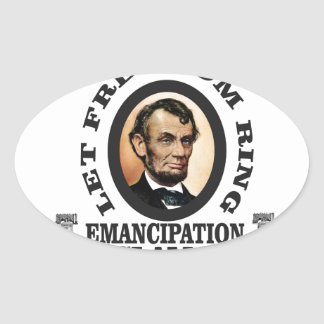 lincoln EP honor Oval Sticker