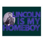 Lincoln es mi Homeboy Postal