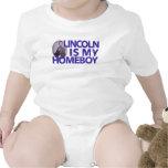 Lincoln es mi Homeboy Traje De Bebé