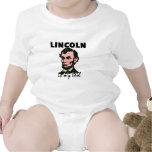 Lincoln es mi ídolo traje de bebé