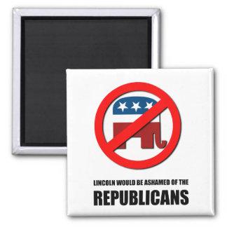 Lincoln estaría avergonzado de los republicanos imán para frigorífico
