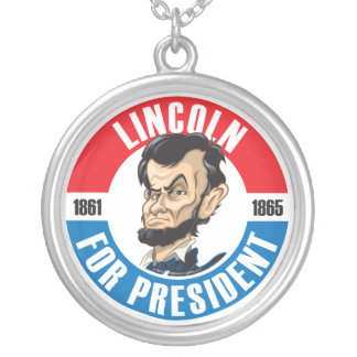 Lincoln For President Necklace