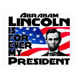 Lincoln Forever Postcard