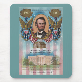 Lincoln, From Log Cabin to White House Mouse Pad