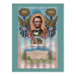 Lincoln, From Log Cabin to White House Postcards