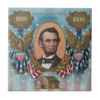 Lincoln, From Log Cabin to White House Tile