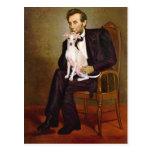 Lincoln - galgo italiano 5 postal