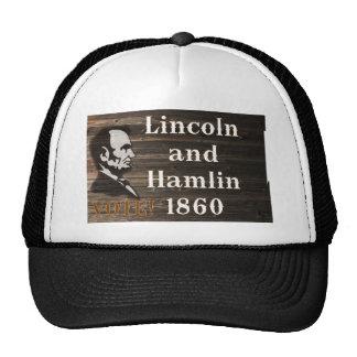 Lincoln-Hamlin 1860 Trucker Hat