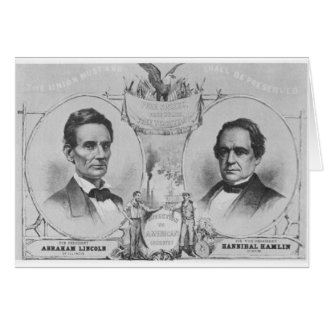 Lincoln - Hamlin Card