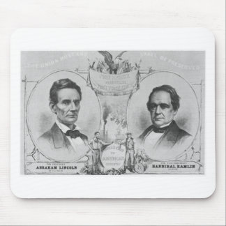 Lincoln - Hamlin Mouse Pads