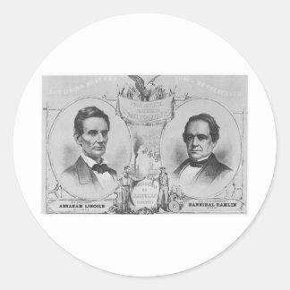 Lincoln - Hamlin Stickers