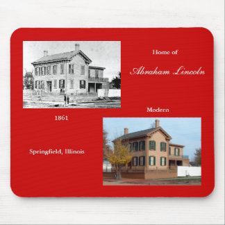 Lincoln Home, Springfield, Ill. Mouse Pad