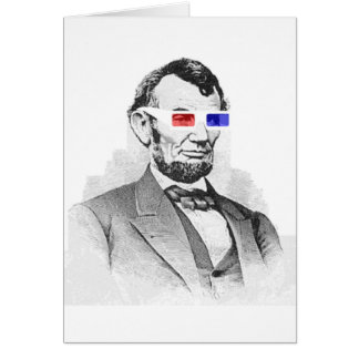 Lincoln in 3D! Card