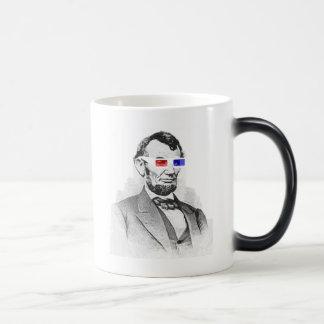 Lincoln in 3D! Magic Mug