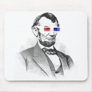 Lincoln in 3D! Mouse Pad