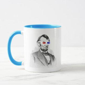 Lincoln in 3D! Mug