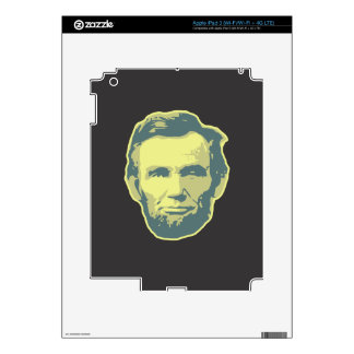 Lincoln iPad 3 Decals