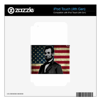 lincoln iPod touch 4G skins