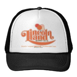 Lincoln Land Amusement Park, Effingham, Illinois Mesh Hat