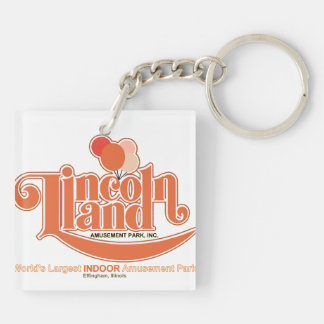 Lincoln Land Amusement Park, Effingham, Illinois Keychain