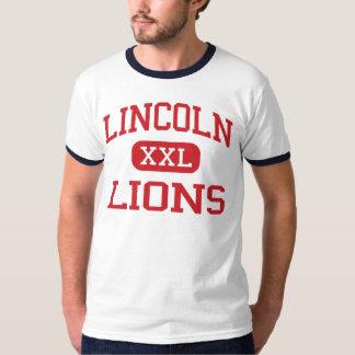 Lincoln - leones - centro - Indianapolis Indiana Playera