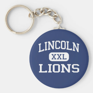 Lincoln - Lions - High - Jersey City New Jersey Key Chains